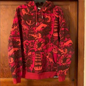Men's Pink Dolphin Medium Size Sweater